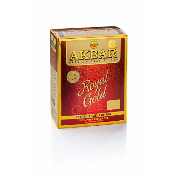 Чай Akbar Royal Gold 80гр