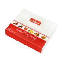 Чай Akbar Fruit Melange подарочный набор в индивидуальных конвертиках из фольги 60х2г