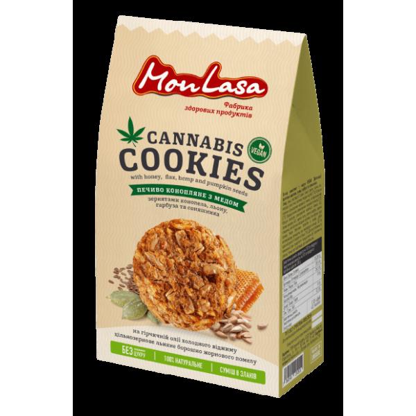 MonLasa - Печенье Конопляное с медом