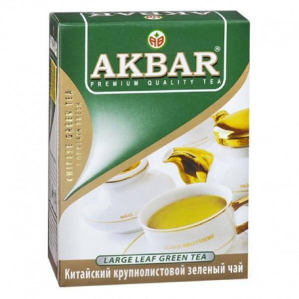 Чай Akbar Green Tea 100гр