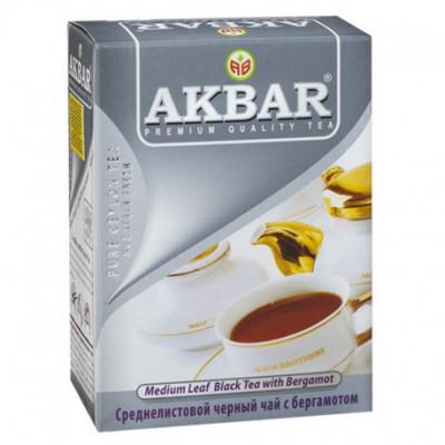 Чай Akbar Earl Grey 100 гр