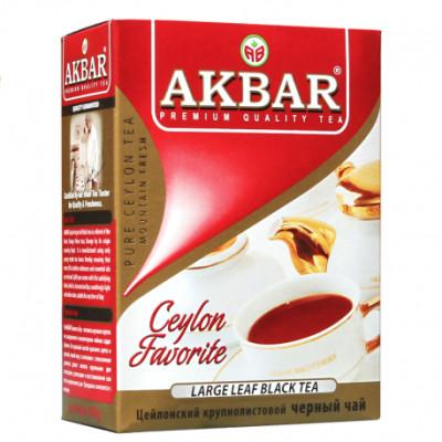 Чай Akbar Black tea  100 гр