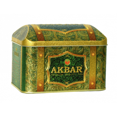 Чай Akbar Rich Soursop 250гр ж/б сундук Royal Celebrations