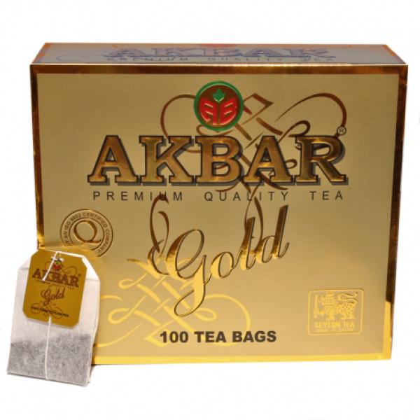 Чай Akbar Gold пакетированный 100x2гр