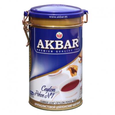 Чай Akbar Pekoe ж/б 225гр