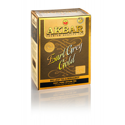 Чай Akbar Earl Grey Gold 80гр