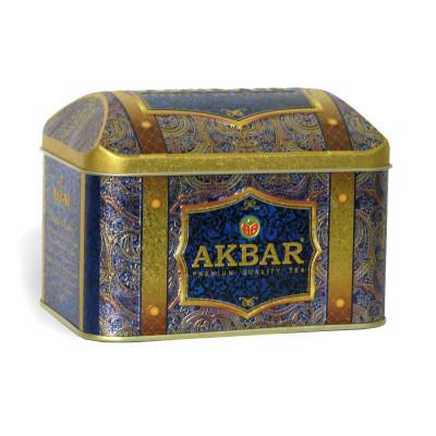 Чай Akbar Orient Mystery 250гр ж/б сундук