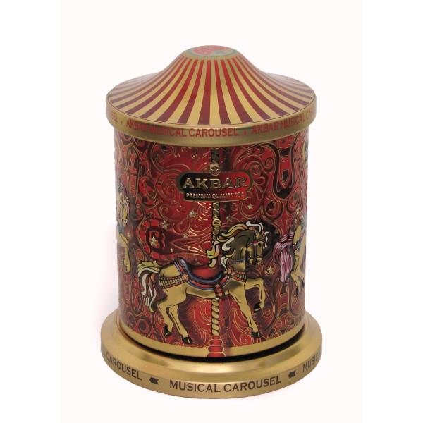 Чай Akbar Orient Mystery 250гр в банке Музыкальная карусель