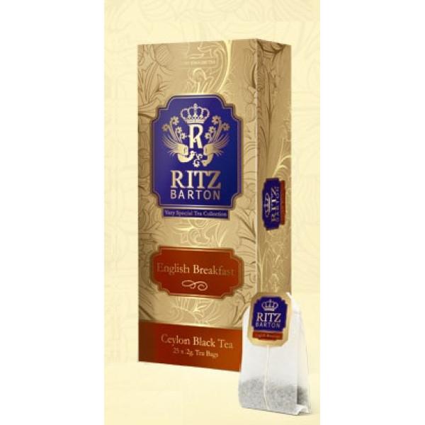 Чай Ritz Barton English Breakfast пакетированный 25х2 гр.