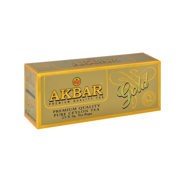 Чай Akbar Gold пакетированный 25х2гр