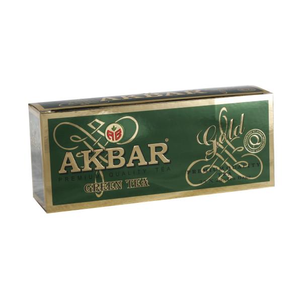 Чай Akbar Green Gold пакетированый 25х2гр