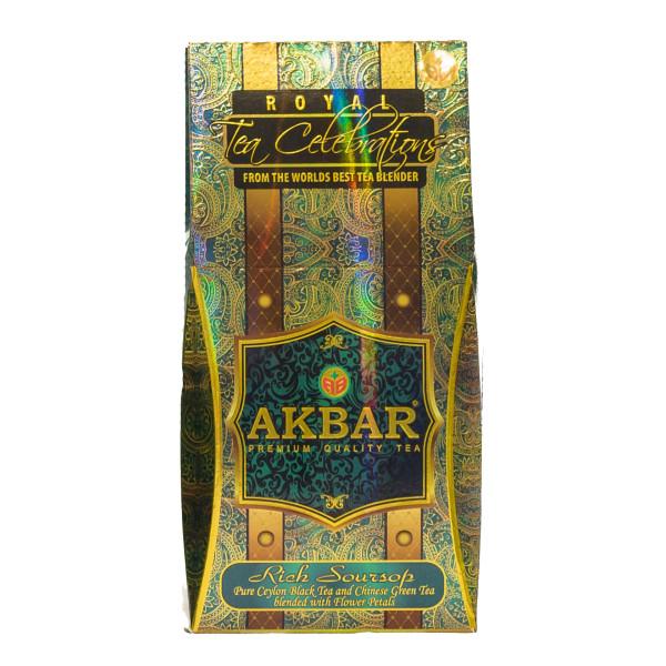 Чай Akbar Rich Soursop 100гр Royal Celebrations