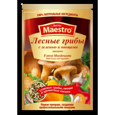 Red Hot Maestro - Приправа Лесные грибы с зеленью и овощами 25гр
