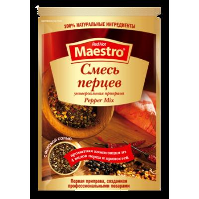 Red Hot Maestro - Приправа Смесь перцев 25гр