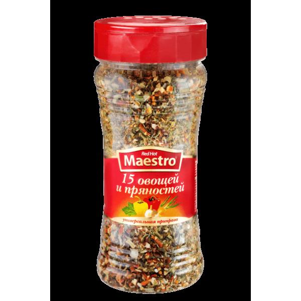 Red Hot Maestro - Приправа 15 овощей и пряностей, банка 200гр